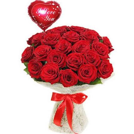 Love with Red Rose