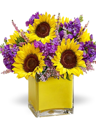 Blooming sunflowers Bouquet