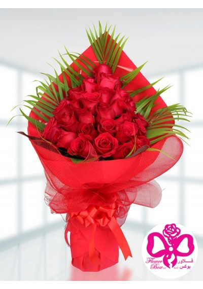 Pyramid  Red Rose Bouquet